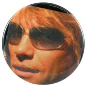 Bon Jovi - 'Jon Sunglasses' Button Badge